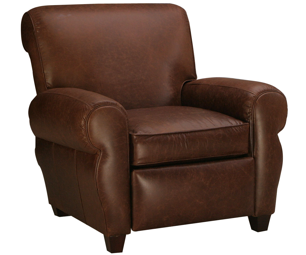 Leather Recliner Chairs Manhattan Style Leather Recliner Club Chair Club Furniture