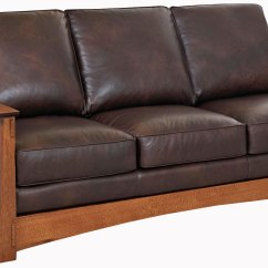 Leather Sofa Chair Darrin From Jcpenney Mission Style Pillow Back Chairs And Sofas