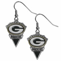 Green Bay Packers Classic Dangle Earrings (F)