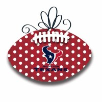 Houston Texans Metal Door Decor