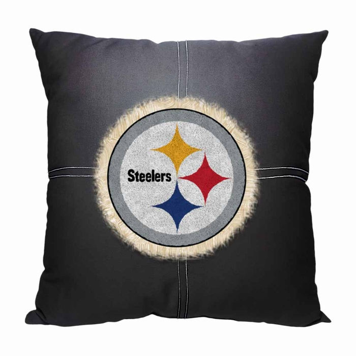 Pittsburgh Steelers Letterman Pillow