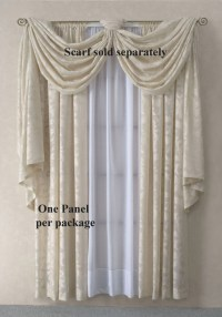 Scarf Valances: Solid-Colored, Sheer, Patterned