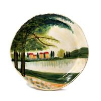 Intrada Italy Paesaggio Lake Charger Plates (4)