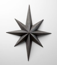 Large Wood Star Wall Decoration by Cyan Design