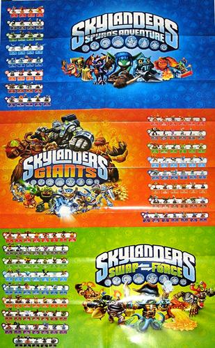 The Gallery For Gt Skylanders Swap Force Dark Edition Poster
