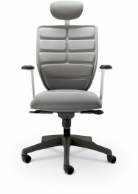 Renew Executive Chair - Gray Back / Seat / Headrest