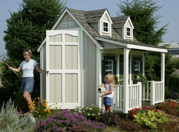 Playhouse plans with porch diy blueprint plans download for Playhouse with porch plans