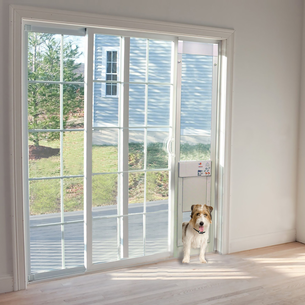 Power Pet LowE Fully Automatic Patio Door  Large Extra