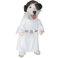 Princess Leia Dog Costume - Medium | Entirelypets