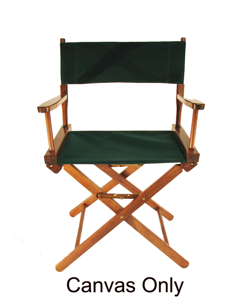 CUSTOM SIZE Cotton Duck Directors Chair Replacement Cover