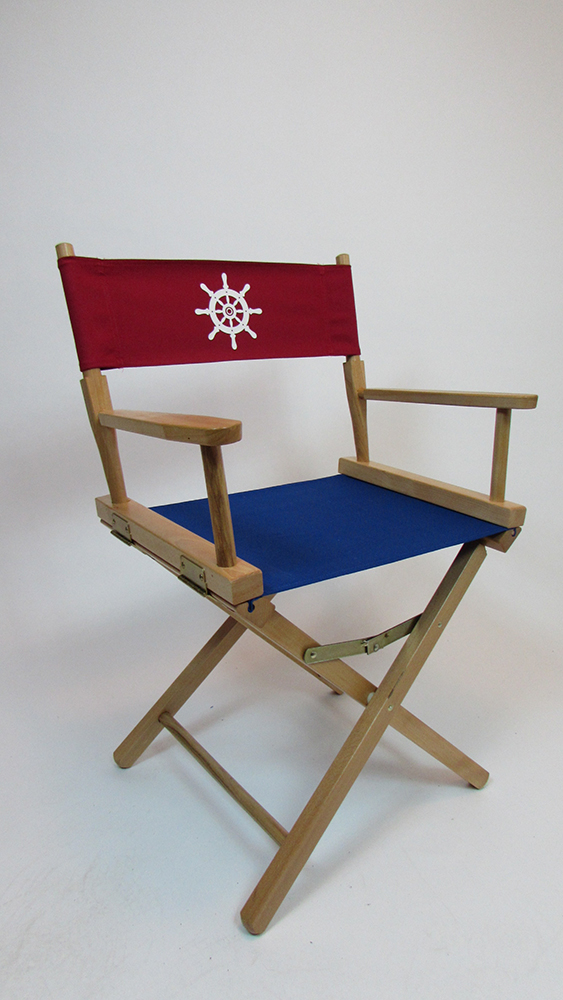 CUSTOM SIZE Marine Themed Replacement Directors Chair