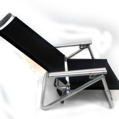 Beach Chair Accessories Coleman With Table Imprinted Low Boy 3 Position Reclining Aluminum