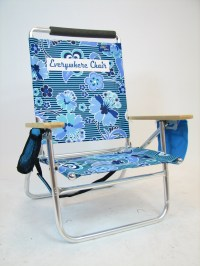 IMPRINTED Personalized Lazy Beach 3 Position Beach Chair ...