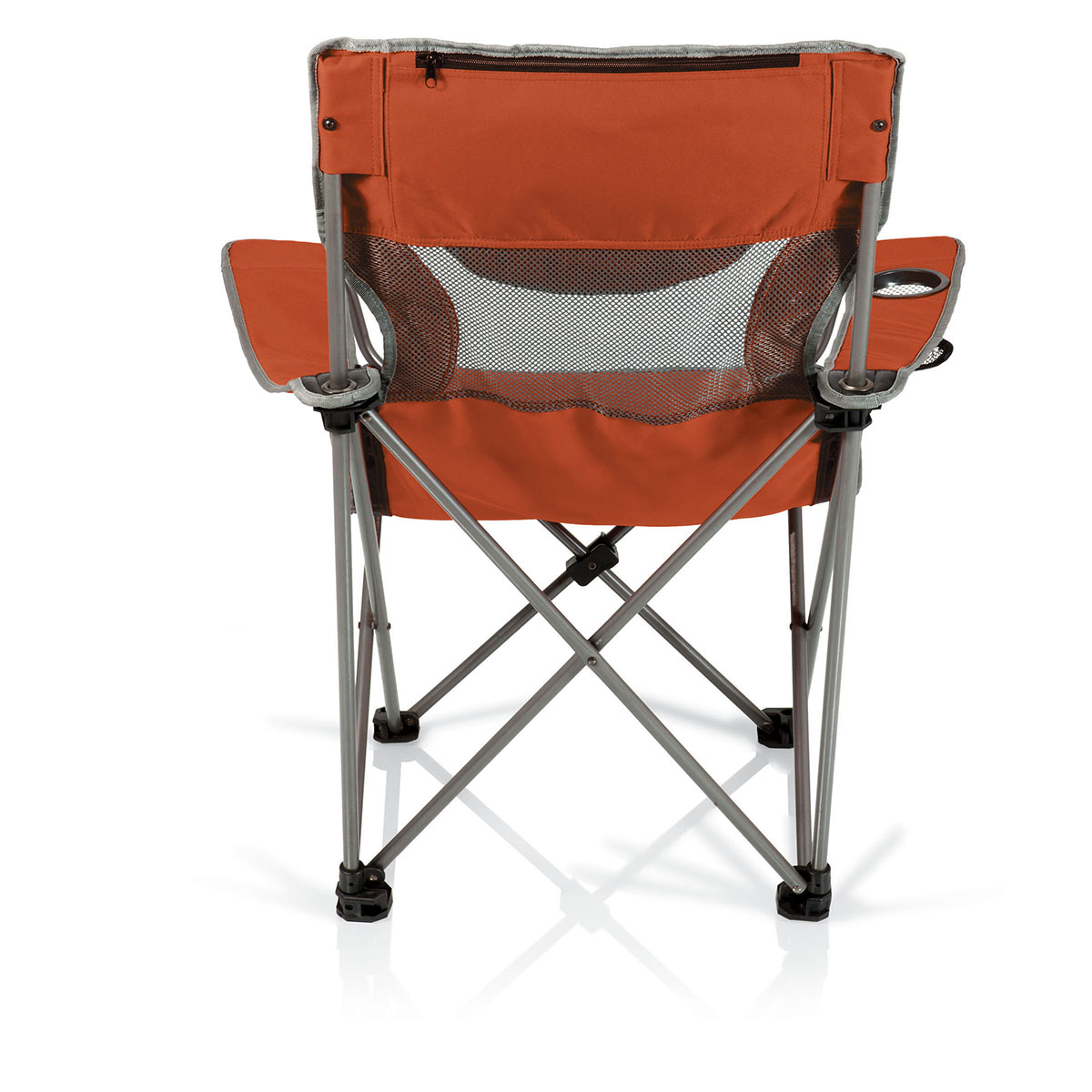 picnic time chairs posture chair support the campsite by standard height quad