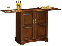 Lodi Wine & Bar Cabinet by Howard Miller - Wine Furniture