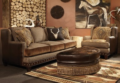 Cabin Living Room Furniture Sets