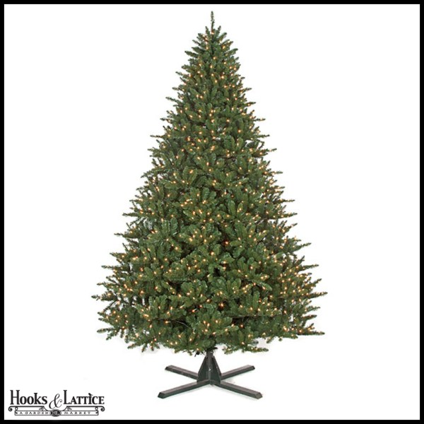 7.5 Ft Sherwood Pre-lit Fir Artificial Christmas Tree Withwarm White Led Lights