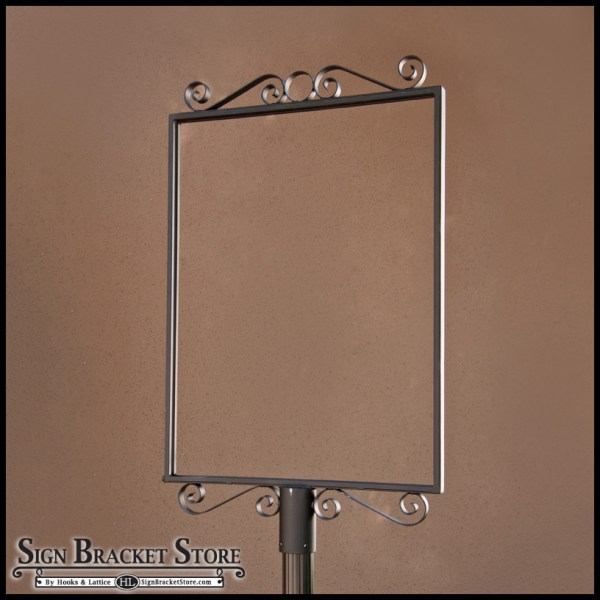20 Wrought Iron Sign Holder Pictures And Ideas On Stem Education Caucus