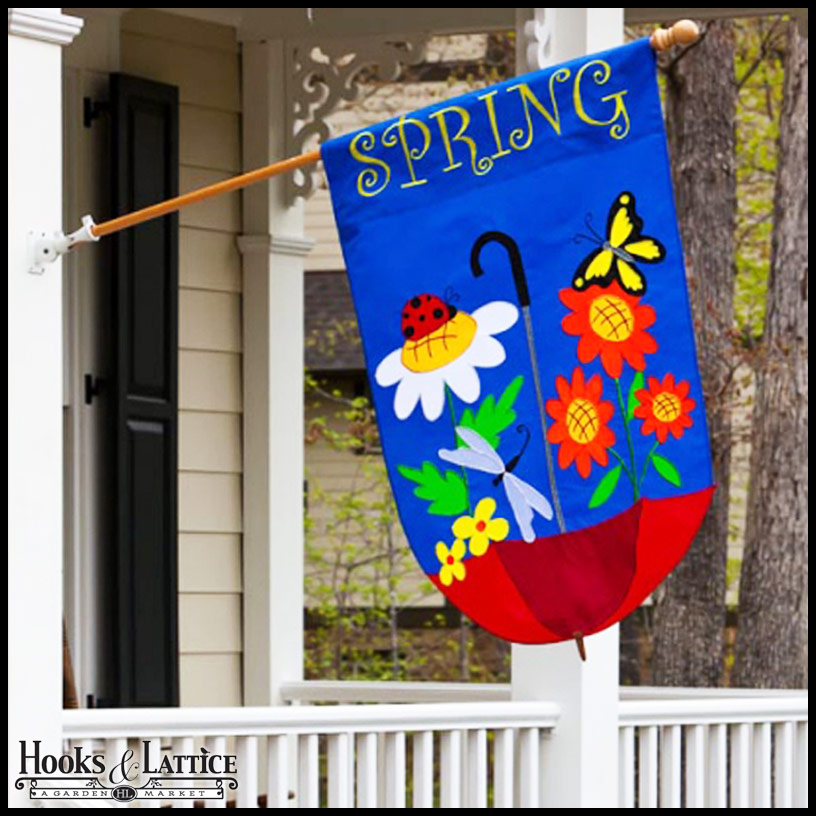 Garden Flags, Decorative House Flags & Seasonal Flags
