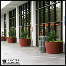 Large Commercial Planters Hotel Unlimited