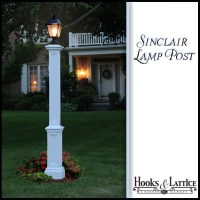 Exterior lamp posts, decorative lamp post, residential