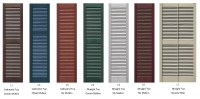 Exterior Shutter Color Ideas