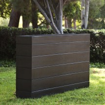 Madera Rectangle Planter Boxes Outdoor Planters With Faux