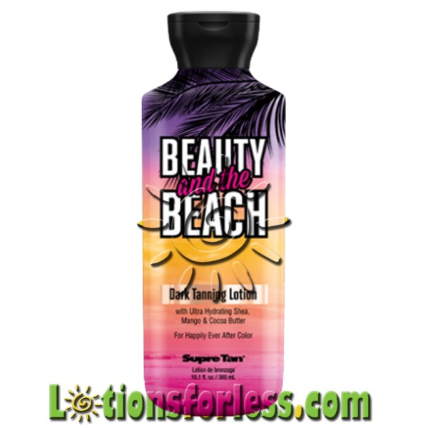 Supre - Beauty And Beach Dark Tanning Lotion