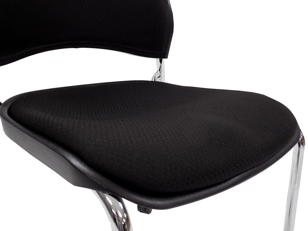 office chair 300 lb capacity valencia hanging padded mobile stacking guest