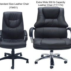 500 Lb Office Chair Steelcase Criterion Extra Wide Lbs. Capacity Leather Desk