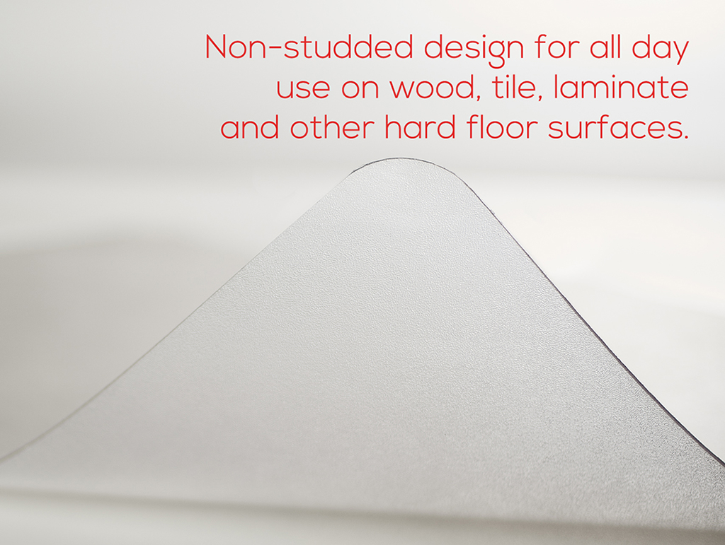 custom size chair mats for carpet large covers hard floor non studded 145 quot thick 36 x 48