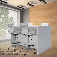 Tall Drafting Table Chair Dental Electrical Requirements Team Collaborative Standing Height Meeting