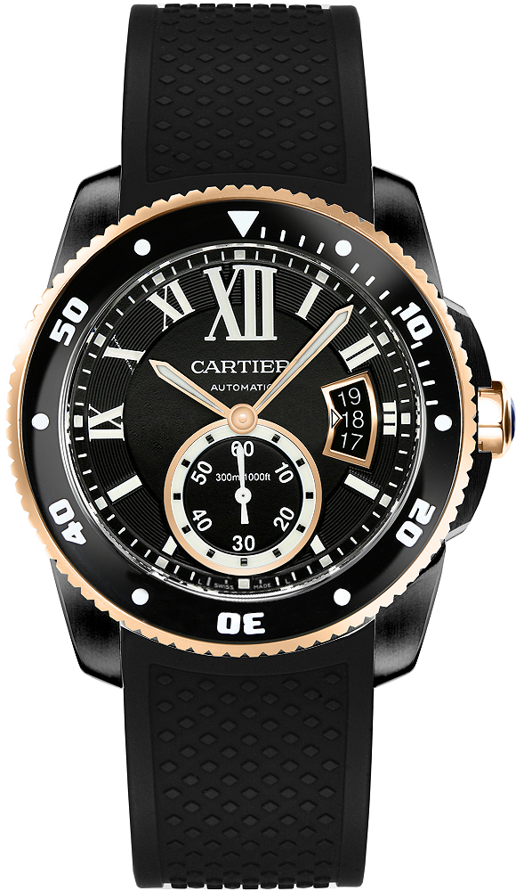 W2CA0004 Cartier Calibre De Cartier Diver Mens Watch