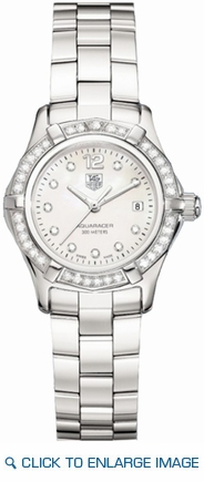 WAF1416.BA0824 TAG Heuer Aquaracer White Mother of Pearl