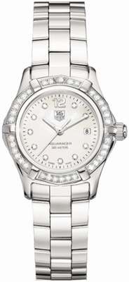 WAF1416.BA0813 TAG Heuer Aquaracer White Mother of Pearl