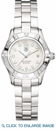 WAF141G.BA0813 TAG Heuer Aquaracer White Mother of Pearl