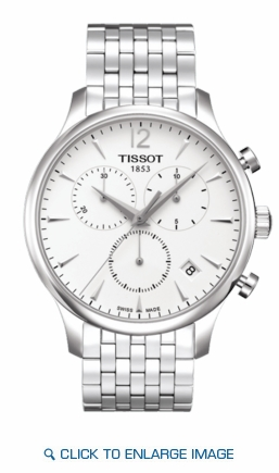 T063.617.11.037.00 Tissot Tradition Chronograph Silver