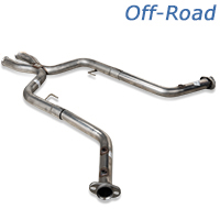 Pypes 409 Stainless Steel Off-Road X-Pipe ('05-'10 GT