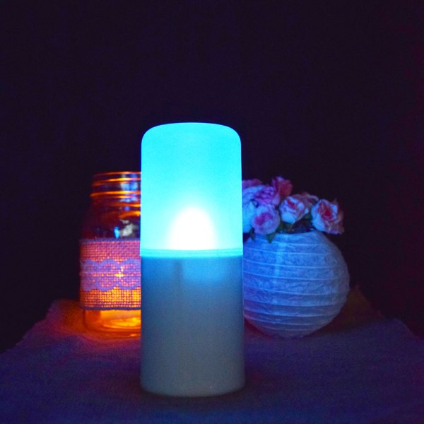 LED Remote Flameless Candles with Color