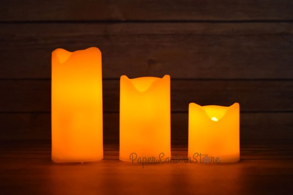 LED Flameless Candles with Remote