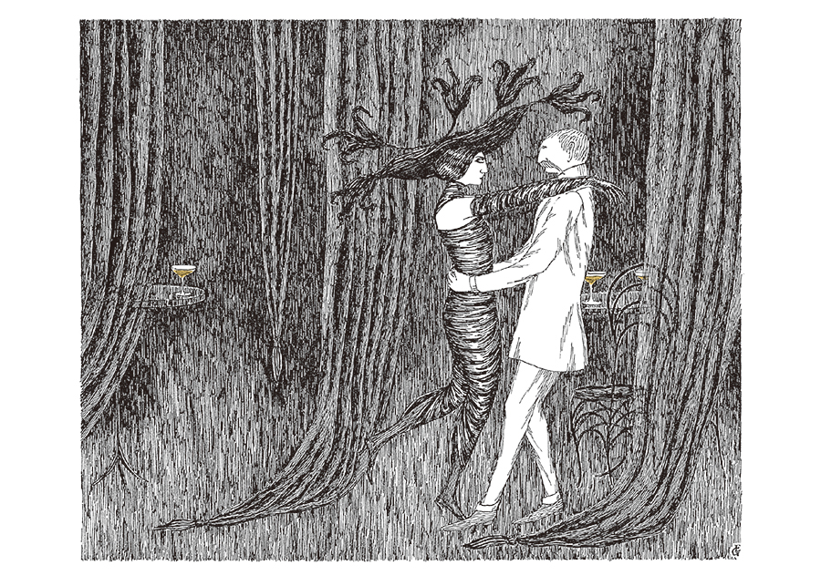 Edward Gorey Close Encounters Boxed Notecards