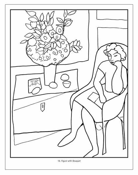 1000+ images about Fine art coloring for adults on Pinterest