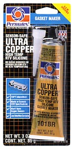 Permatex HighTemp Ultra Copper RTV Silicone Gasket Maker