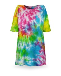 SALE! Green Blue Purple Pink Tie Dye Plus Size T-Shirt XL ...