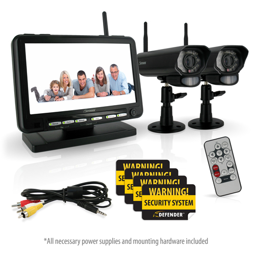 Wireless Security Monitor