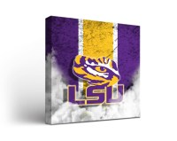 LSU Tigers Vintage Canvas Wall Art