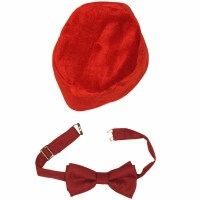 Doctor Who Fez Bow Tie Set