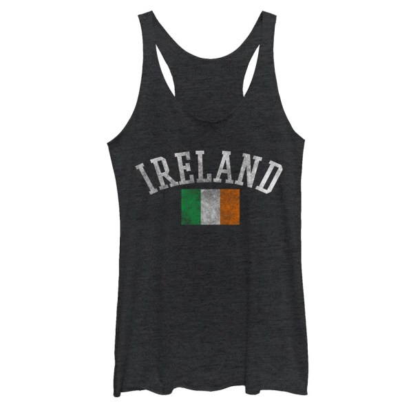 Irish Flag Ireland Tank Top Juniors T-shirt