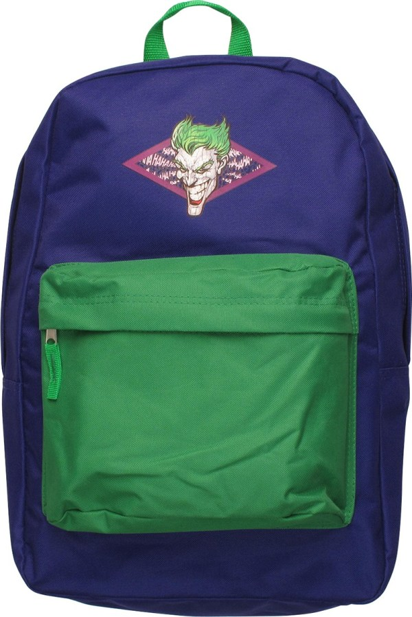 Joker Distressed Face Ha Backpack