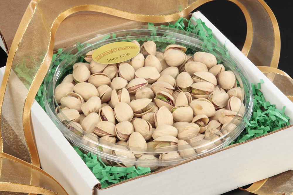 Colossal Pistachios Gourmet Nut Tray Nut Gifts  Pistachio Gifts